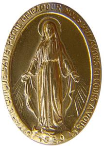 la Vierge est un symbole fort et très souvent choisi